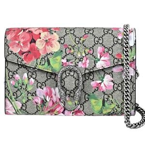 Gucci Dionysus Blooms GG Supreme Canvas Bag